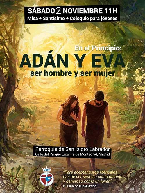 Adán y Eva. Ser hombre y ser mujer
